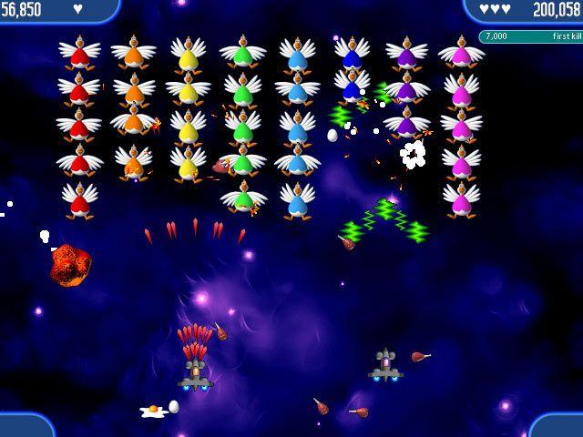 Chicken Invaders Screenshot