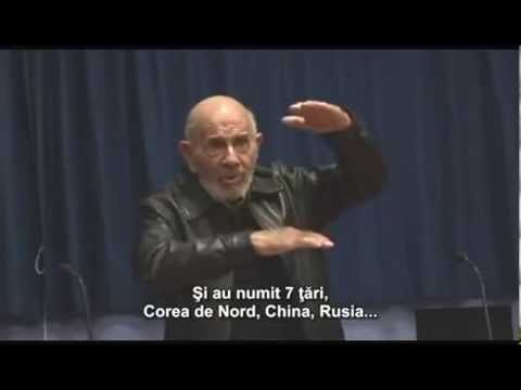Jacque Fresco conferință Proiectul Venus (octombrie 2009) - YouTube