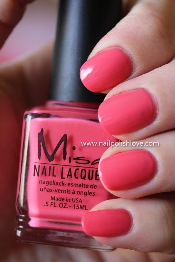 Misa Pink Cadillac, Free Shipping at Nail Polish Canada