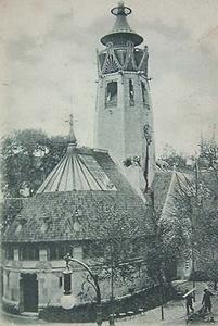 suomen paviljonki 1900 maailmannäyttely - H. Gesellius, A. Lingren, ja E. Saarinen (kilpailuvoitto 1898)
