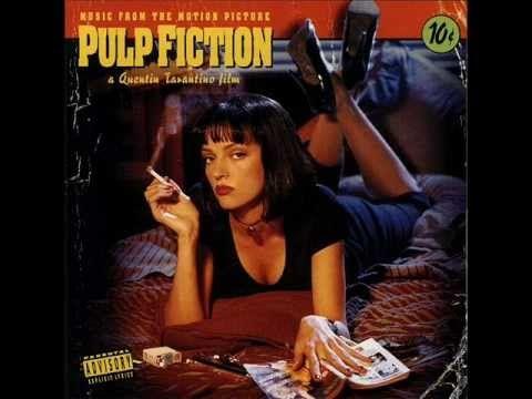 Pulp Fiction soundtrack ( I <3 jungle boogie)......................;-)