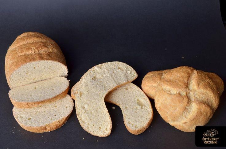 Extra diétás light paleo kenyér, cipó, zsemle, kifli, bagett (maglisztmentes, szénhidrátszegény, kalóriaszegény, gluténmentes, élesztőmentes)