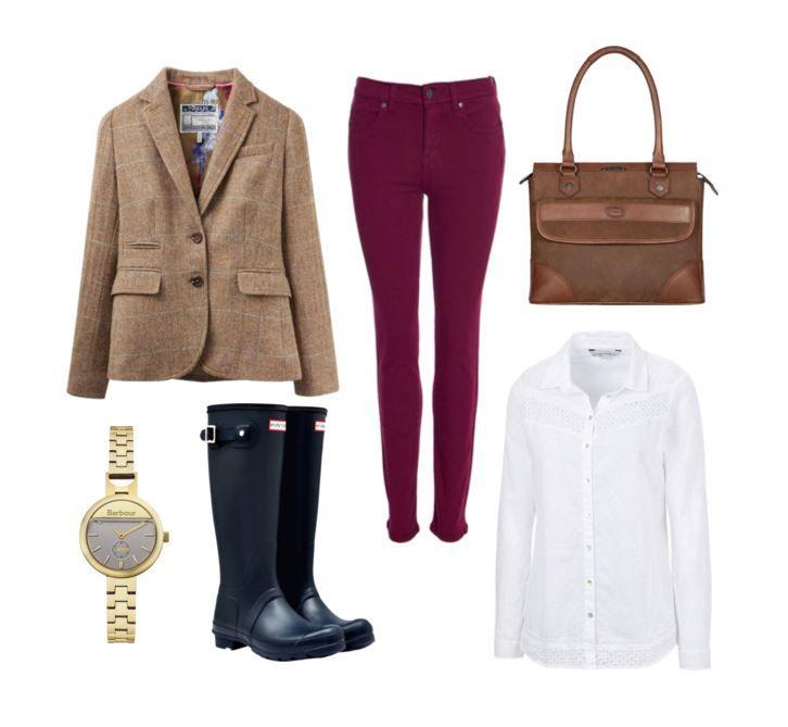 Joules Tweed Jacket...so adorable!
