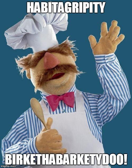 Swedish Chef says Happy Birthday!
