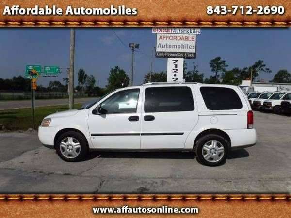 2008 Chevrolet Uplander Cargo Van (Affordable Automobiles)
