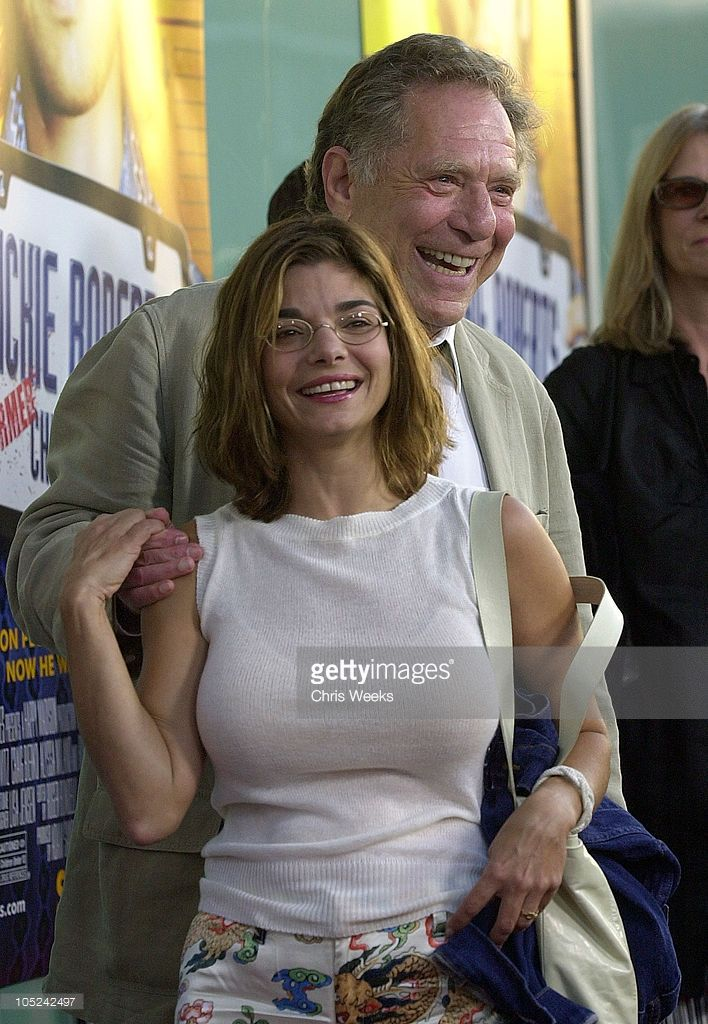 Laura San Giacomo and George Segal during World Premiere of 'Dickie Roberts: Former Child Star' at Cinerama Dome in Hollywood, California, United States.