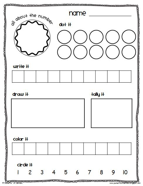 Awesome Blog - Pocketful of Centers: Math Center Time Savers Packet...want to make my own variation with double tens frames and number line to make it more differentiated for higher kids