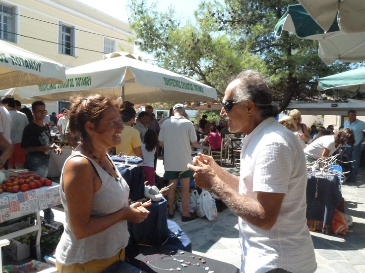 Potamos' sunday market