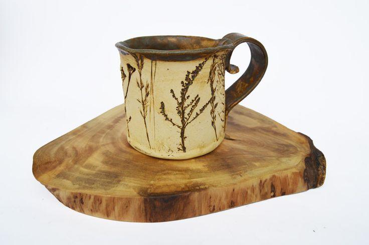 Ceramic Cup Herbs