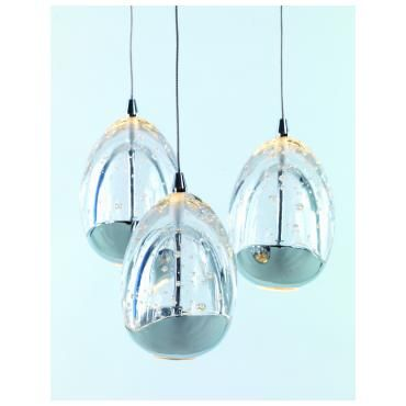 Karma LED taklampe Krom | Lampehuset