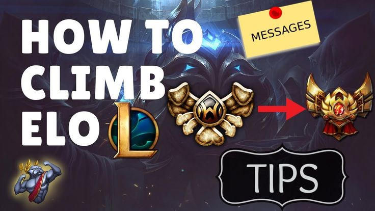 THE BEST WAY TO CLIMB ELO IN LEAGUE OF LEGENDS (ALL ELO'S)