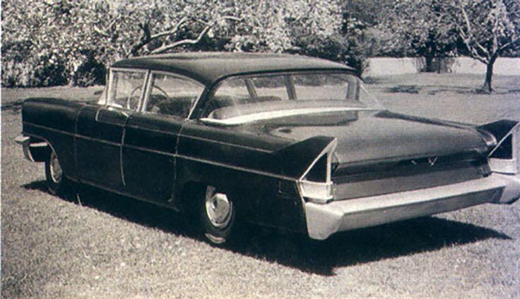 OG | 1957 Packard Black Bess, a four-door model based on ...