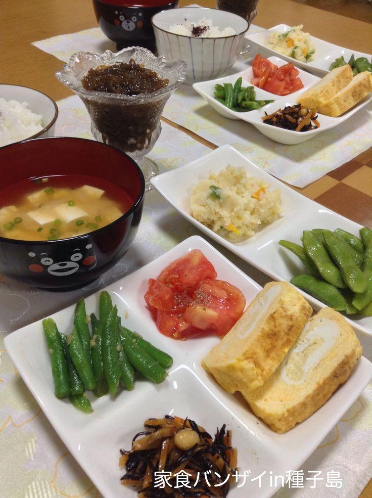 2015/6/5 夕食 マクロビオティック風な和食