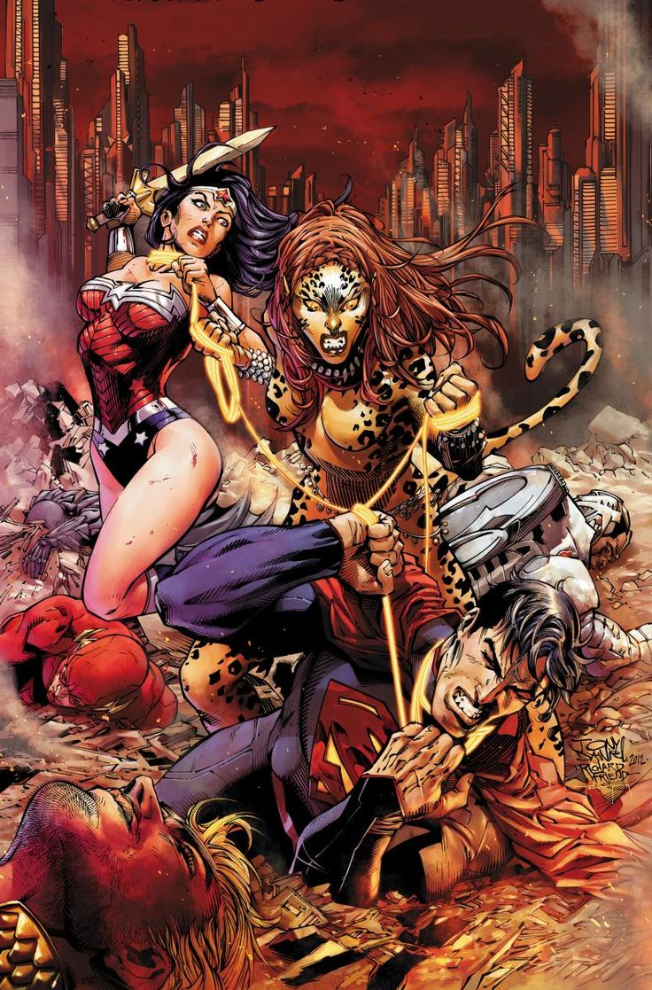 Justice League #13 by Tony Daniel