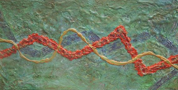 Contemporary Modern Abstract Wall Art by abstractionsinart on Etsy