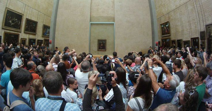 8 Tourist Traps You Can Totally Skip via @PureWow. The Mona Lisa - a little sad :(