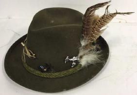 Vintage Anton Pichler Graz Mens Hat Vintage Felt Hat