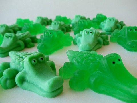 10 Alligator Soap - baby shower favor, party favor on Etsy, $12.00