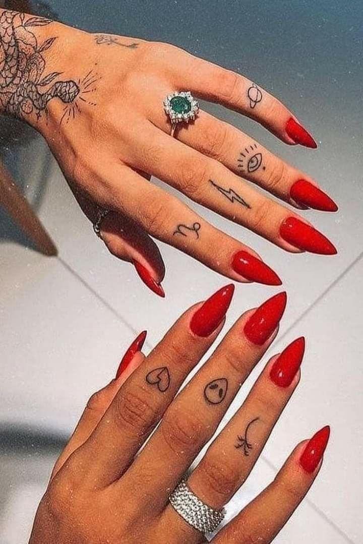 Tatuajes En Dedos Tatuaje Dedos Mano Tatuajes En Los Dedos Tatuajes Dedos Mujer