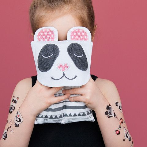 Temporary tattoos - Alex the Panda Tatouages temporaires - Alex le SUPER Panda