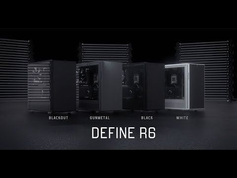 Fractal Design Define R6 Showreel - YouTube