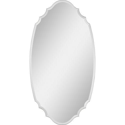 Tristan All Glass 29-Inch Frameless Mirror