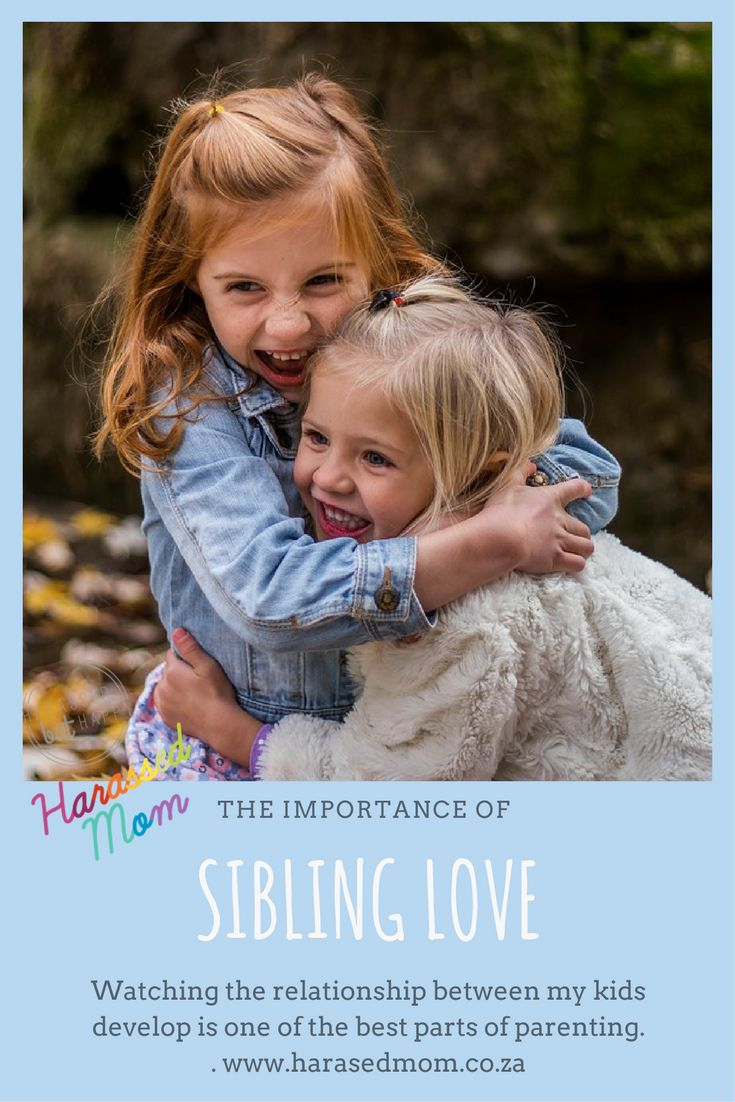 If you have more than one child you will know how special it is to watch their relationships develop.  #siblings #love #momblogger #harassedmom