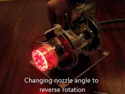 ▶ Tesla Turbine With Magnetic Bearings II - YouTube