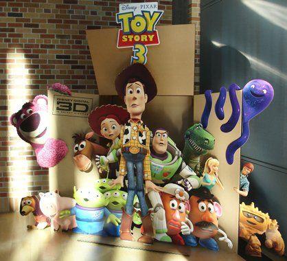 Toy Story movie standee