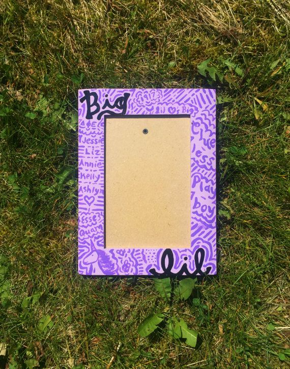 delta phi epsilon sorority big and little picture frame