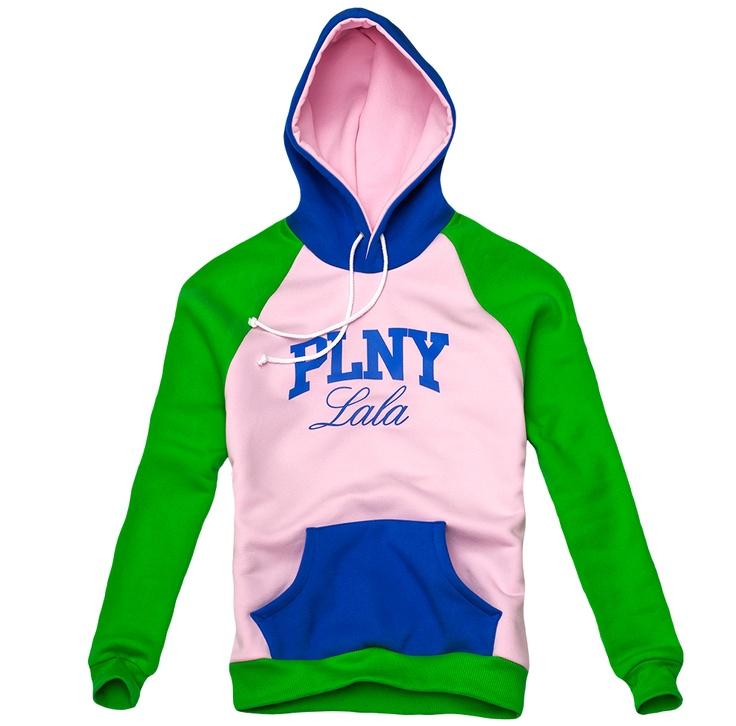 PLNY LALA: Klasyk Pink-Green