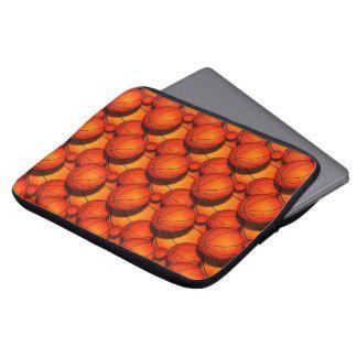 Basketball Laptop Sleeves