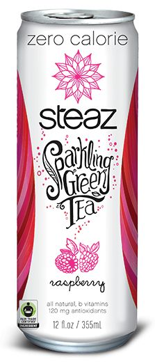 Sparkling Green Tea Zero Calories - alternative to diet soda, made with all natural ingredients and sweetened with stevia instead of artificial sweetners