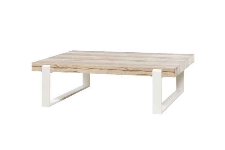 Interior Design Table Blanche Et Bois Made In Table Basse Style