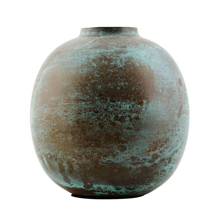 Effect Vase 14cm, Grøn 300 kr. - RoyalDesign.dk