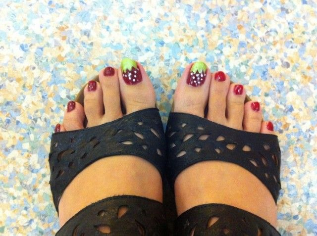 131 best nail art images on pinterest enamels nail art and products 12 lovely ideas for your toenail designs 2014 prinsesfo Gallery