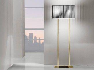 Floor lamp handmade silk CLAVIUS |  floor lamp - AXO LIGHT