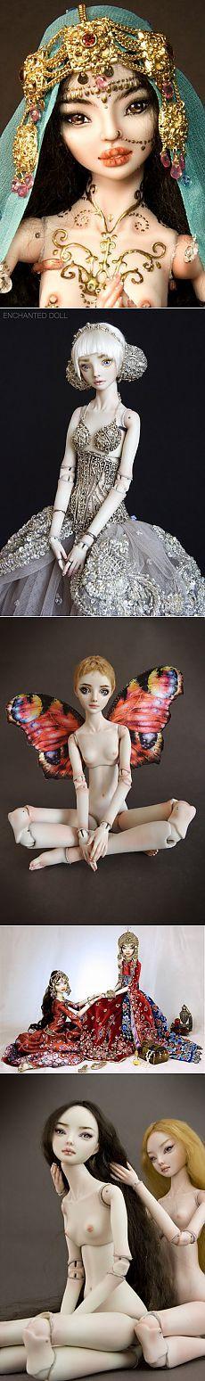Живые куклы от Марины Бычковой (трафик) / Дизайнеры / Модный сайт о стильной переделке одежды и интерьера