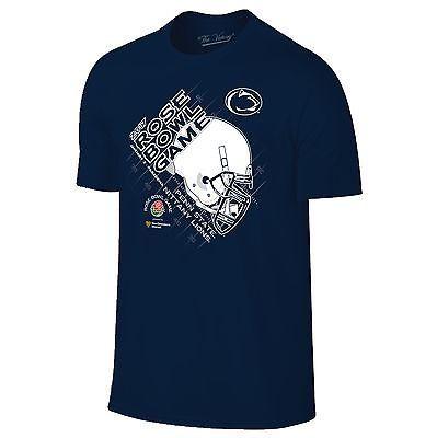Penn State Nittany Lions 2017 Rose Bowl College Football Helmet Navy T-Shirt
