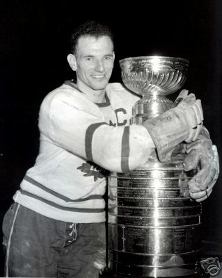Ted Kennedy won five Stanely Cups with the Leafs and possibly the Greatest leafs Captains Ever!