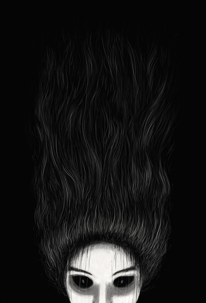"""Haunted"" Art Print by Nicebleed on Society6."