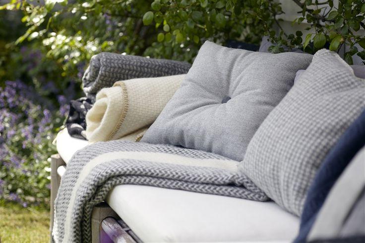 Klippan wool blankets - Nordic Fusion