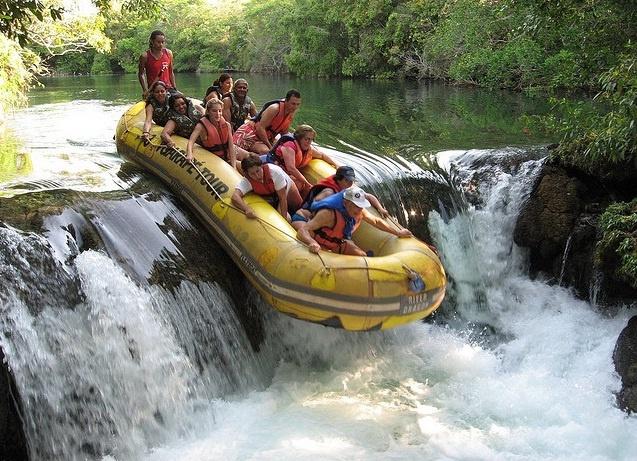 Rafting no Rio Formoso - Bonito, Brasil