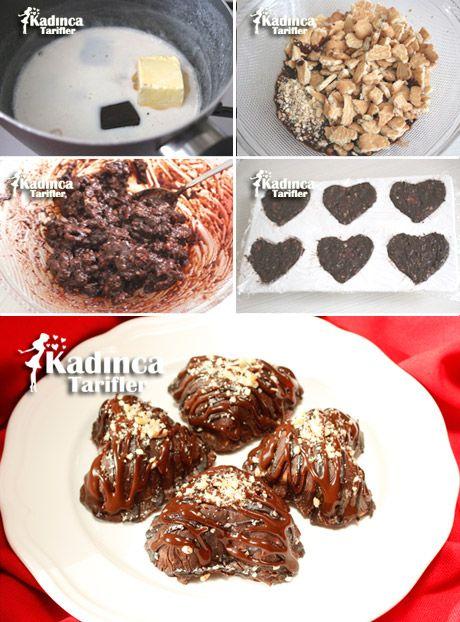 Çikolatalı Pratik Tatlı Tarifi
