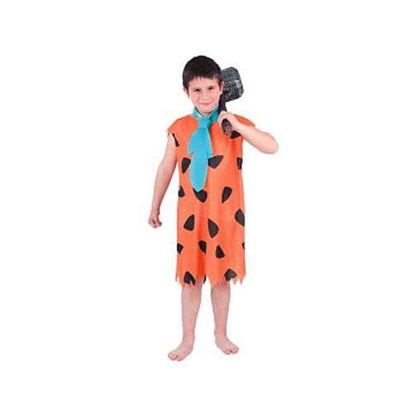 Fred Flintstone kostuum voor kinderen. Het Fred Flintstone kostuum bestaat uit een jumpsuit en das. Carnavalskleding 2015 #carnaval