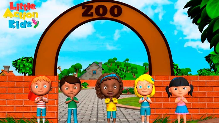 We're going to the zoo, how about you? The best kids animal song, kids will love to sing & dance along with their favorite animals; monkeys, elephant, giraffe, seals and rhinos. Join in with the little action kids as they show you the super easy actions. A fun animal video for children. Sing and dance along to this fun popular kids nursery rhyme!   Subscribe now for more fun kids songs https://www.youtube.com/channel/UCeotJ7JiJ1iSDRFo51JV-sw?sub_confirmation=1