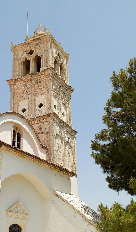 Church of the Holy Cross, Pano Lefkara, Cyprus - photo by Dora Cheatham