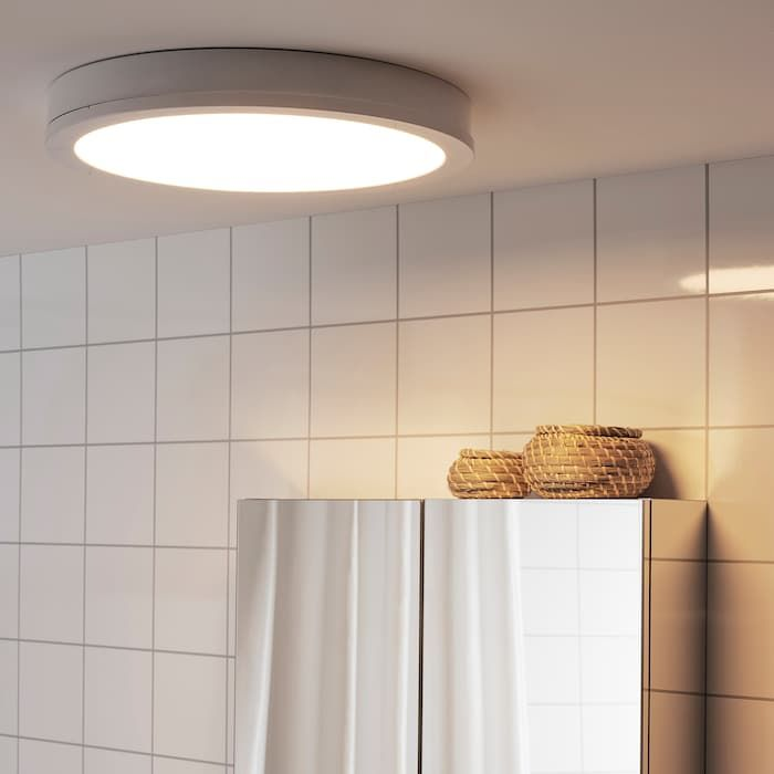 RISBYN Lámpara techo LED blanco 50 cm en 2020 | Techo led