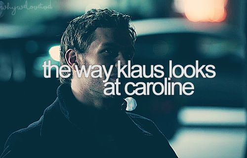 I kinda ship them... is that bad? Klaus is a bad dude, but everyone deserves love, right?