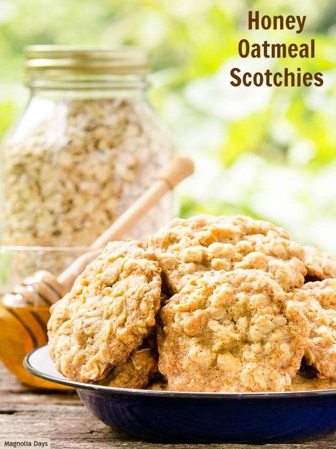 Honey Oatmeal Scotchies are a twist on the classic cookies. Honey makes them super soft, chewy, and oh so good. Bake a batch and watch how fast these disappear from the cookie jar.